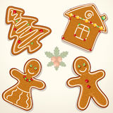 Gingerbread cookie Royalty Free Stock Photos