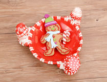 Gingerbread cookie Stock Images