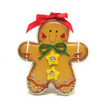 Gingerbread Cookie. A photo of a gingerbread cookie stock images