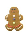 Gingerbread Cookie. Isolated on a white background Royalty Free Stock Image
