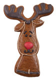 Gingerbread cookie in the form of a deer Stock Photos