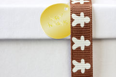 gingerbread cookie gift box Stock Photos