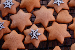 Gingerbread cookie Royalty Free Stock Photography