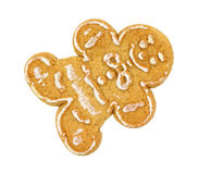 Gingerbread cookie man Royalty Free Stock Images