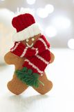 Gingerbread cookie man Royalty Free Stock Image