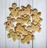 Gingerbread cookie men Royalty Free Stock Photo