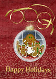 Gingerbread Cookie Ornament Royalty Free Stock Photos