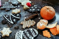 Gingerbread сookie Stock Photography