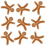 Gingerbread cookies_01 Stock Photo