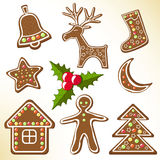 Gingerbread cookies. Stock Image