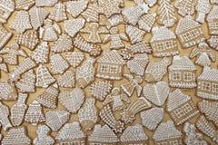 Gingerbread cookies.  Stock Photos