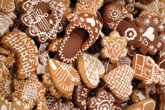 Gingerbread Cookies Stock Photography