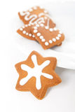 Gingerbread cookies Royalty Free Stock Images