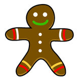 Gingerbread cookies cartoon. Stock Image