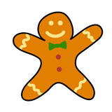 Gingerbread cookies  cartoon. Stock Photography