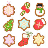Gingerbread  cookies .Christmas decoration on Royalty Free Stock Photo