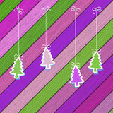 Gingerbread cookies with Christmas. + EPS8. Gingerbread cookies with Christmas tree branches. + EPS8 vector file Royalty Free Illustration