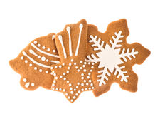 Gingerbread cookies for christmas holidays Stock Photo