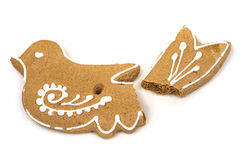Gingerbread Cookies At Christmas Royalty Free Stock Images