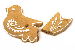Gingerbread Cookies At Christmas Stock Images