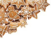Gingerbread cookies Royalty Free Stock Photography