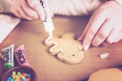 Gingerbread Cookies Stock Photos