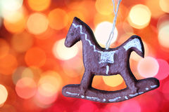 Gingerbread cookies decoration Stock Photography