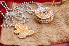 The gingerbread Royalty Free Stock Images