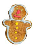 Gingerbread cookies - snowman Stock Images