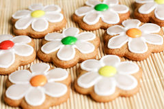Gingerbread cookies on the table Stock Images