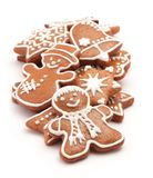 Gingerbread cookies Stock Images