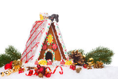 Gingerbread  cottage Stock Image