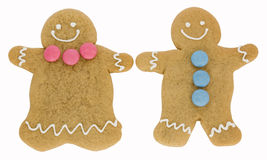 Gingerbread couple Stock Photography