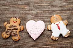 Gingerbread couple Royalty Free Stock Photos