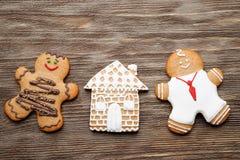 Gingerbread couple Royalty Free Stock Photos