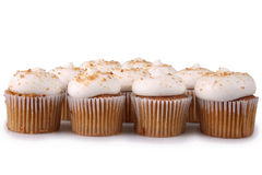Gingerbread Cupcakes Royalty Free Stock Photography