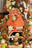 Gingerbread display Royalty Free Stock Photography