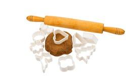 Gingerbread dough Stock Photography