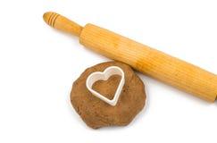 Gingerbread dough Royalty Free Stock Photos