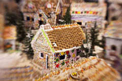 Gingerbread Dream House Royalty Free Stock Images