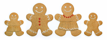 Free Gingerbread Family Stock Photos - 8188503