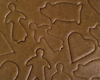 Gingerbread Figure Stock Photo