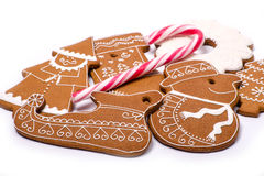 Gingerbread figures Royalty Free Stock Photos