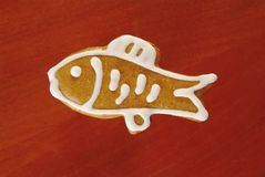 Gingerbread fish Royalty Free Stock Photography