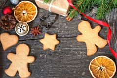 gingerbread image stock