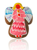 Gingerbread in the form of angel Royalty Free Stock Images