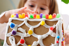 Gingerbread Fragment Royalty Free Stock Image