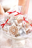 Gingerbread gifts for guests Stock Images