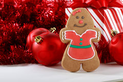Gingerbread Girl Stock Images