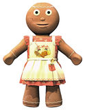 Gingerbread girl Stock Photography